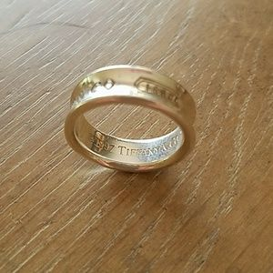 Authentic Tiffany & Co. Sterling ring
